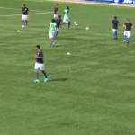 Bengaluru FC warm-up