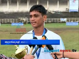 Ananthu Murali, Kerala, Football, India, U-19, Goa, Camp