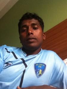 N.P Pradeep, Football, I-league, Mumbai FC, Idukki, Mahindra, Mohun Bagan, Mumbai Tigers, IndianFootball, Socceer, League
