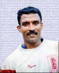V.P. Sathyan, Soccer School, Football, Kozhikode, Anitha, Kerala, India, Captain