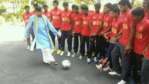 Kerala, Santosh Trophy, Thiruvananthapuram, Camp, Football, Indianfootball, Shashi Tharoor
