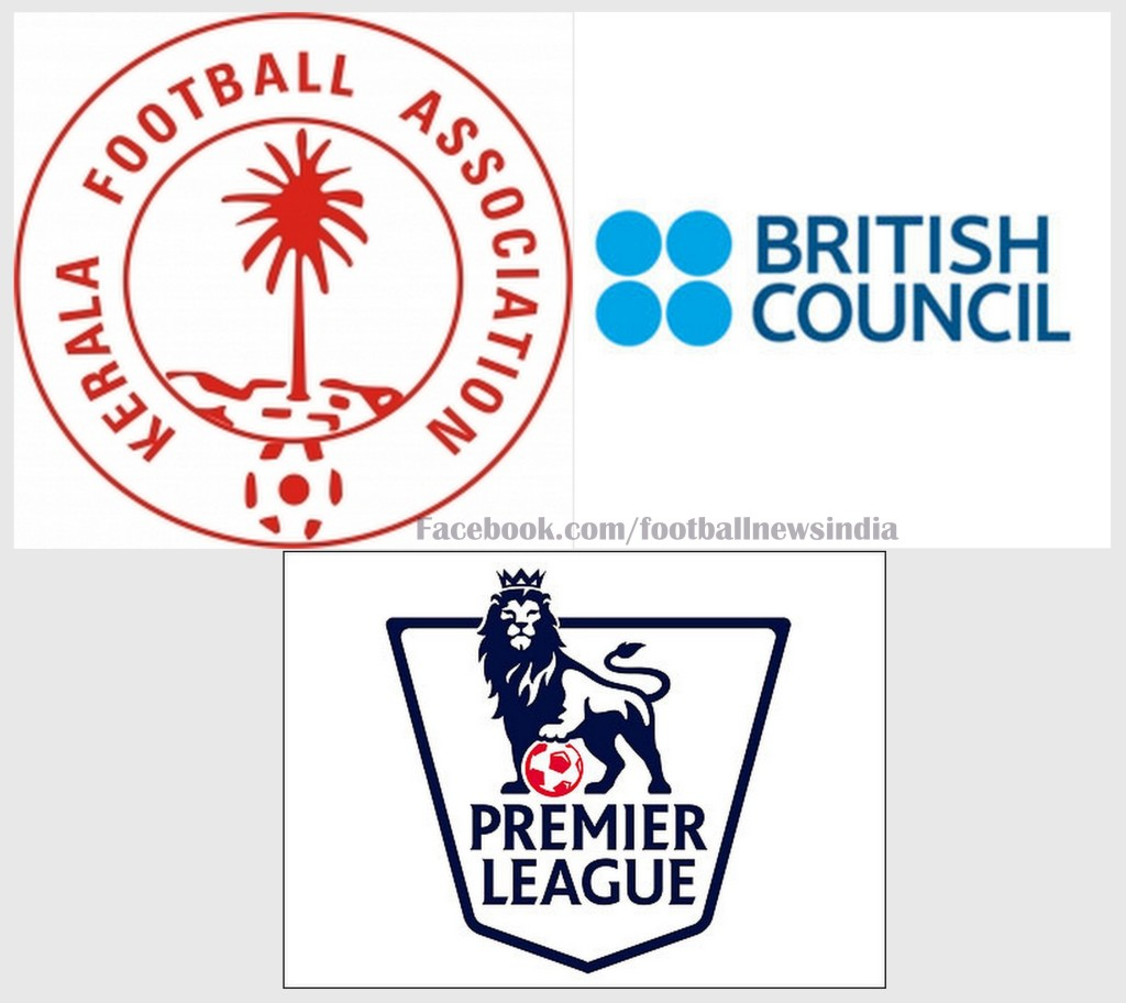 Kerala, Football, Premier League, British Council, India, Soccer, Kerala Football Association, Janaseva Shishu Bhavan, FA Cochin, Maradu FA, Aluva FA, Britain, EPL, Barclays