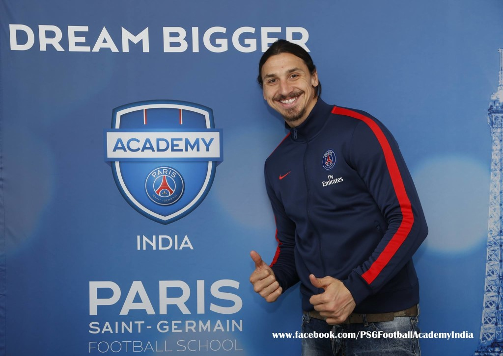 zlatan ibrahimovic, Laurent Blanc, Paris Saint-Germain, Academy, Football, NCR, Delhi, India, Indianfootball, Europe, France, Paris