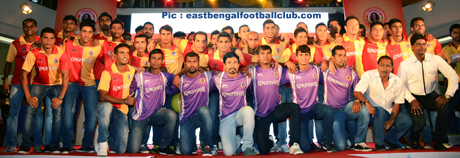 East Bengal, Football, Kolkata, South City Mall, Launch,