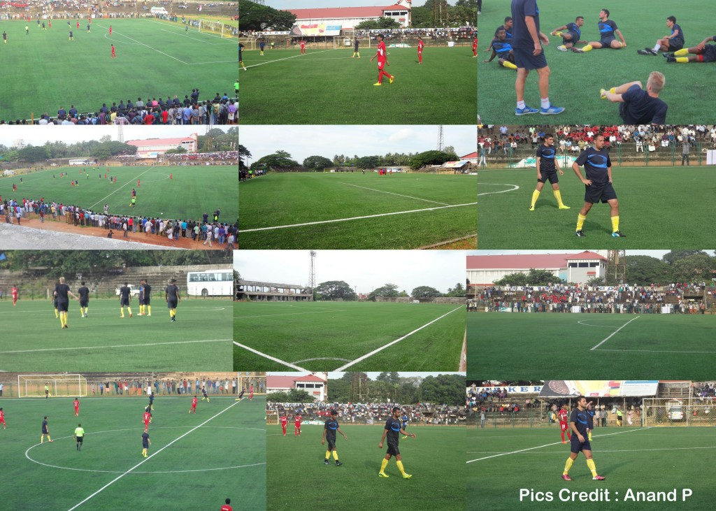 Thrissur, Football, Ground, Artificial field,  Fifa, 2, certification, rating, national games, kerala, Kerala Blasters, Training