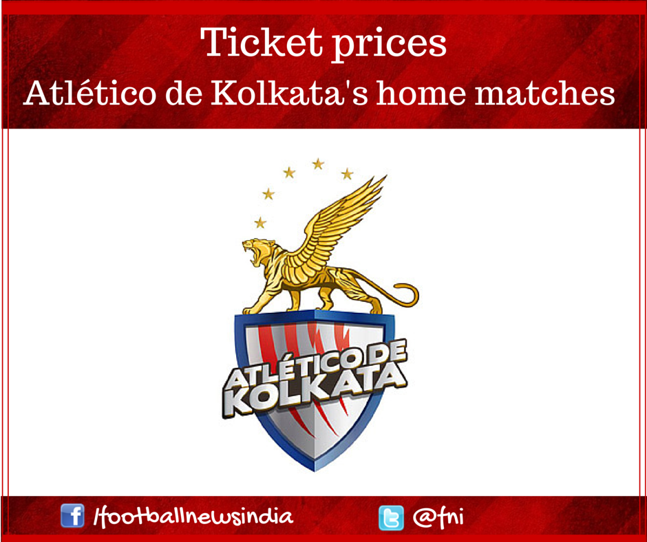Atlético de Kolkata, Indian Super League, Kolkata, Football, Ticket, Ticket Genie, Price, Indian Football, League, Sourav Ganguly, 200, Utsav parekh, Luis Garcia, Entertainment