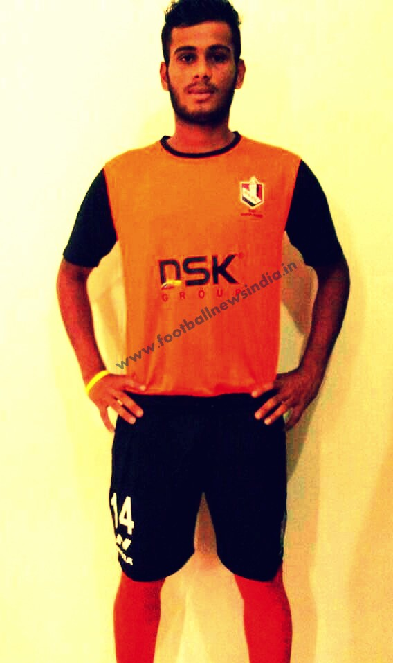 Ananthu Murali, DSK Shivajian FC, Football, Pune, Soccer, Kerala, Thrissur, India, Junior, Bajaj Allianz, Germany, Bayern Munich