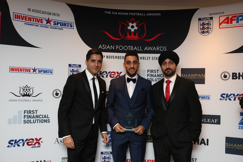 Asian Football Awards, 2015, Football, Wales, U.K, Premier League, Asian, Origin, Sikh,England, West Ham, Tottenham, Swansea City FC