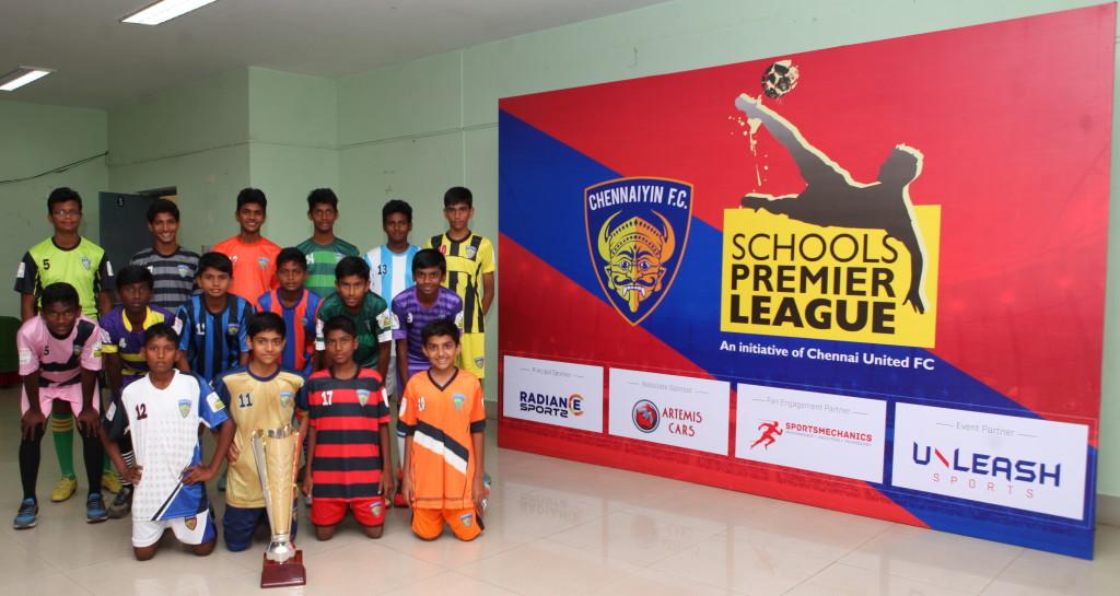 Chennai, Schools Premier League, ISL, Chennayin FC, Football, Grassroots