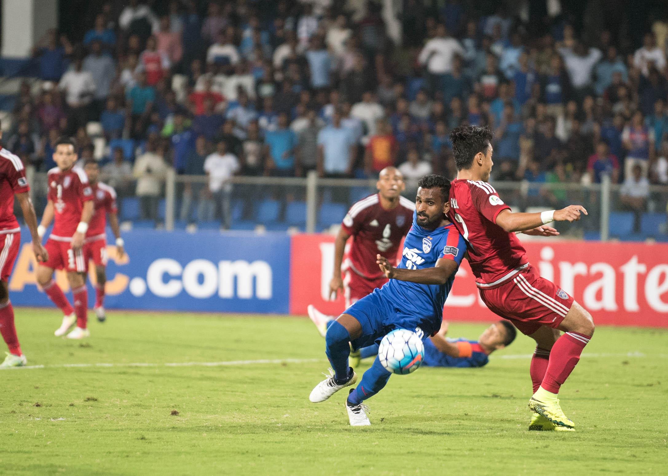 Bengaluru FC, CK Vineeth, Football, Bengaluru, Bangalore, Bengaluru FC, Indian Football, AFC Cup, Johor Darul Taksim, Malaysia