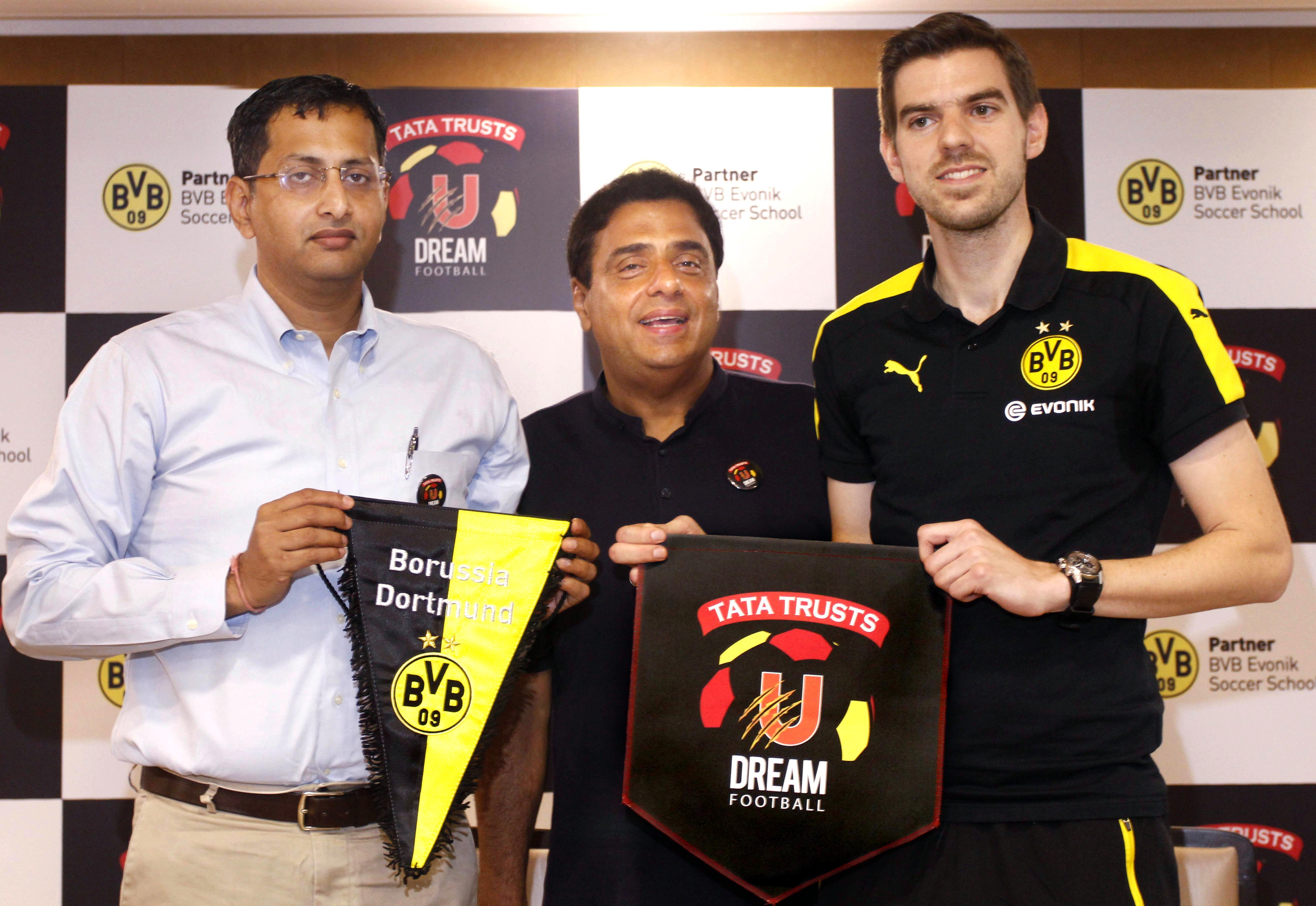 Tata Trusts, U Dream Football, Partnership, Borussia Dortmund